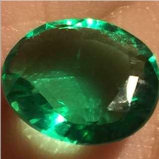(6.55 Cts) Natural Emerald 綠寶石(裸石)
