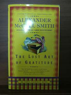 🚚 The Lost Art of Gratitude - Alexander McCall Smith