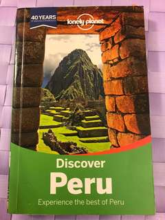 Lonely planet- discover peru
