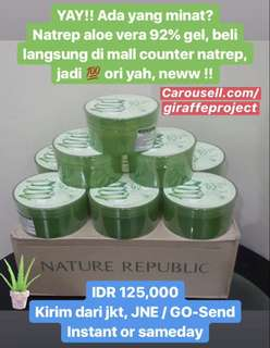Nature Republic Aloe Vera 92% Gel Original
