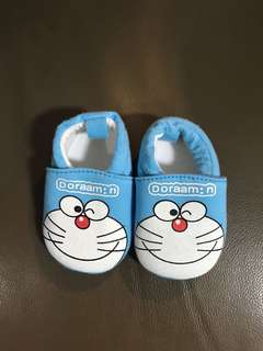 Doraemon booties