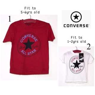 Converse Overruns Boys Tshirt PK18