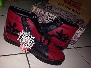 Vans X Marvel Deadpool