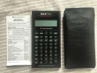 Taxation instrument BA II calculator 計算計