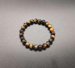 Yellow Tiger Eye Bracelet