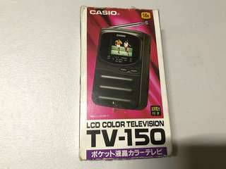 Casio tv-150 vitage pocket tv