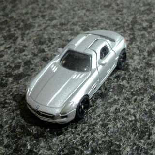 Tomica 1st Edition AMG {custom black rubber tyres)