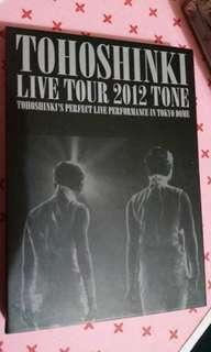 TVXQ Tone live tour 2012