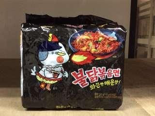 Samyang nuclear fire noodles original flavour