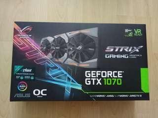 ASUS ROG STRIX GTX 1070 GAMING OC