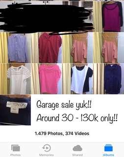 Garage sale cotton on/ local brand/ zara