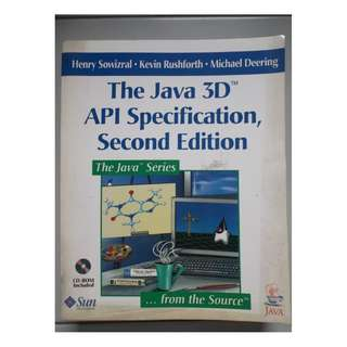 The Java 3D API Specification by Henry Sowizral, Kevin Rushforth, Michael Deering