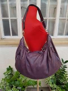 Rabeanco Leather Hobo Bag