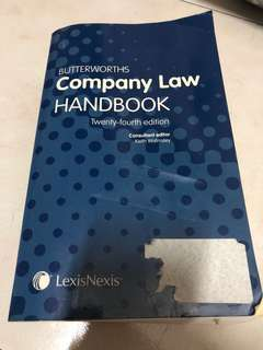 🚚 Company Law Handbook by Keith Walmsley