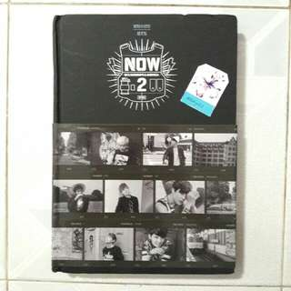 BTS Now 2 Photobook *RARE*