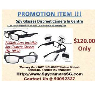 Spy Camera Glasses HD