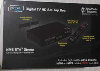 DVBT2 digital box