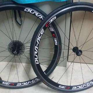 Wheelset 10 & 11 Speed Compatible Giant Wheels