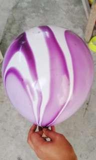 """12"""" purple marble balloon"""