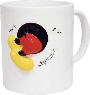 🚚 正版授權 迪士尼 MICKEY 米奇 造型浮雕馬克杯 咖啡杯 水杯 杯子
