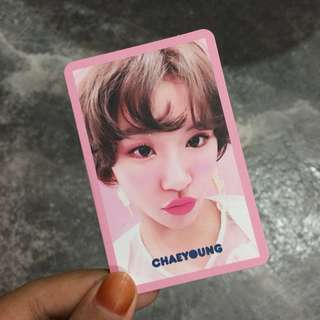 Chaeyoung Signal Photocards
