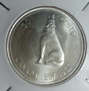 爆光1867—1967加拿大50先紀念銀幣