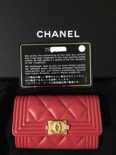 Chanel card bag/ card holder