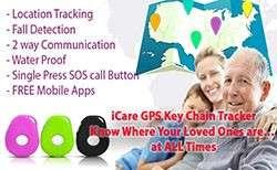 Elderly Fall GPS Monitor