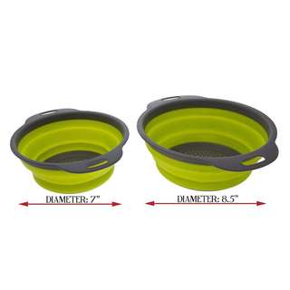 Collapsible Silicon Strainer