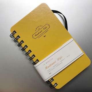 年度小手帳 沒限定年份版 韓國直送