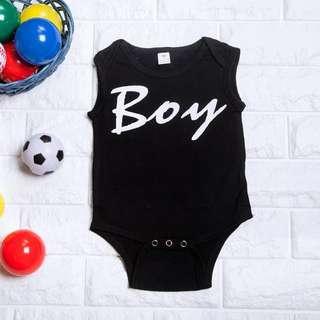 🚚 Instock - Basic Boy Romper, baby infant toddler kid