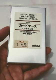 Muji Steel Card Holder