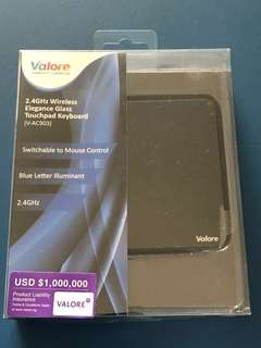 Valore Wireless Touchpad Keyboard & Mouse Control