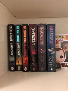 Maze Runner & Divergent Trilogies