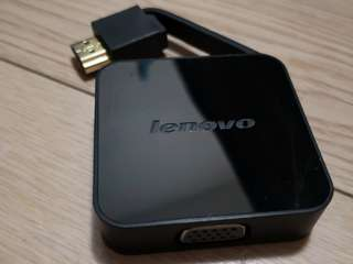 Lenovo HDMI To VGA Adapter CH560 - Black
