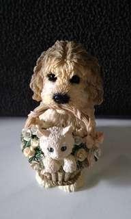 Pajangan anjing antik
