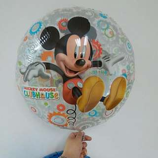 mickey mouse balloon 18inch 4pcs
