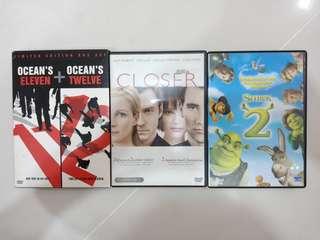 Original Movie DVDs Clearance Sale!