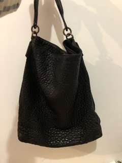 Alexander Wang Black Pebble Handbag