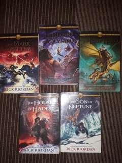 Heroes of Olympus Books