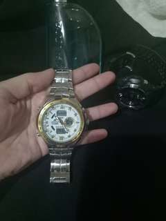 G-SHOCK EDIFICE (Bought this for 14k)