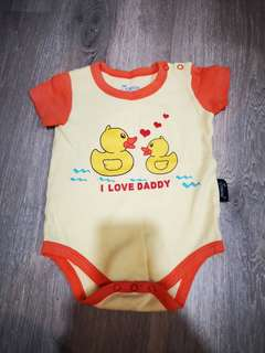 Baby Romper I Love Daddy