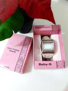 Casio BABY G White Digital Watch