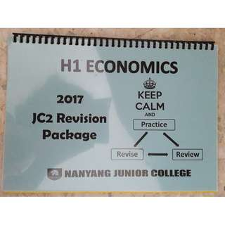 NYJC H1 Economics Revision Package