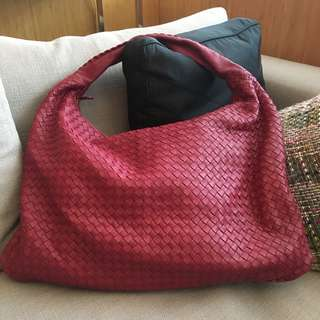 Bottega Veneta Burgundy Intrecciato Woven Nappa Hobo bag (Large)