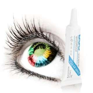 (K6)Waterproof False Eyelashes Makeup Adhesive Eye Lash Glue 9g 0.32oz