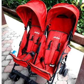 Twin stroller HALFORD