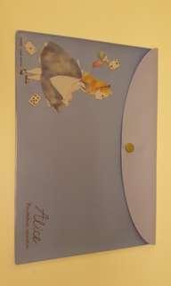 Alice in Wonderland A5 folder