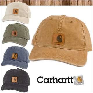 🚚 Carhartt 水洗老帽 土色