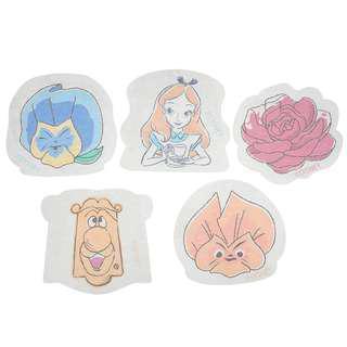 Sung-buy正版日本迪士尼愛麗絲造型手帳紙膠帶